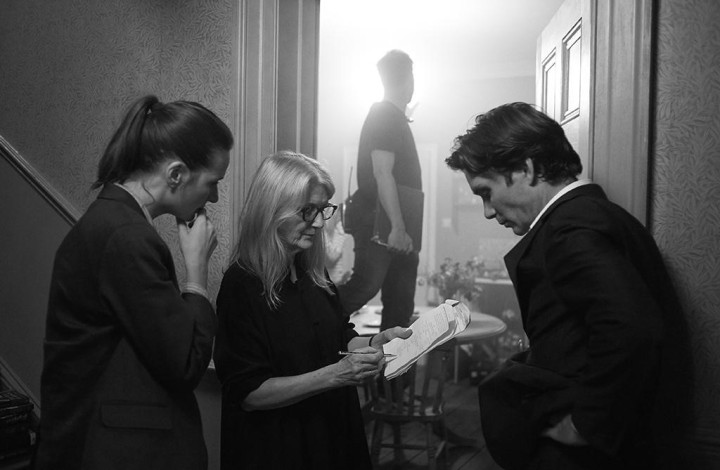 Sally Potter working with EM and CM