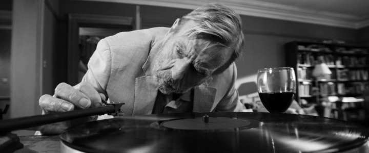 Timothy Spall as Bill playing music